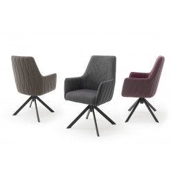 Reynosa modern dining chair with pocket springs