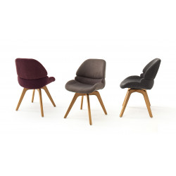 Henderson modern dining chair with 180* rotation