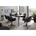 Melrose modern dining rotation chair