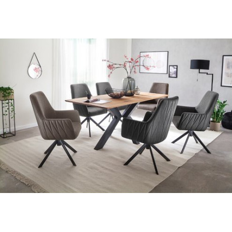 Antigua Solid Oak Dining Table