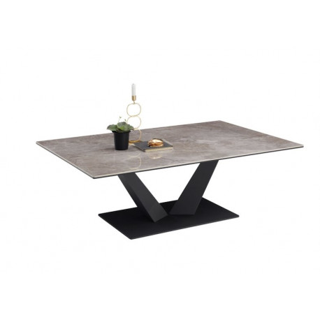 Giselle Coffee Table in Ceramic Finish