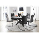 Zagreb dining chair in premium leather finish