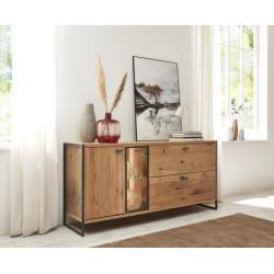 Flora Sideboard in Bianco Oak