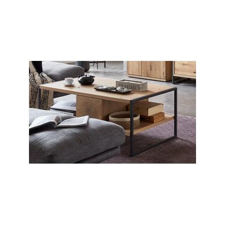 Flora Coffee Table in Oak Imitation
