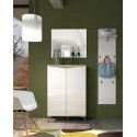 ALADIN 2 doors Shoe Cabinet in White High Gloss