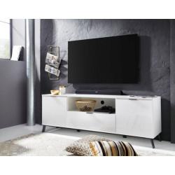 Casablanca TV Stand 180 cm in White High Gloss
