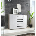 Ontario -wooden and gloss finish large sideboard