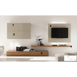 Happy - lacquer wall set