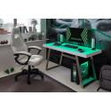 Tifilis II Gaming Desk with LED lights