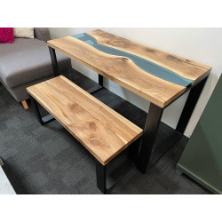Aria Table/desk with bench SET - IN STOCK