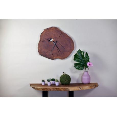 Wall Clock Slice in Maple Wood