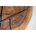 Wall Clock in Poplar Wood