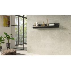 Nela 152 cm Grey Wall Shelf