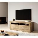 Kanton 154 cm TV Stand in Oak Veneer