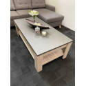 Elba II - coffee table with marmor top imitation