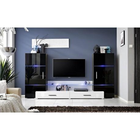 Flash II - high gloss wall set