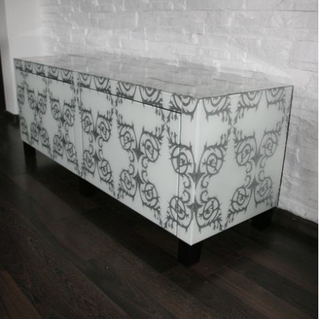 Glass Sideboard No.140-S