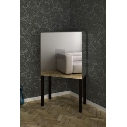 Mirror Bar Cabinet No.90