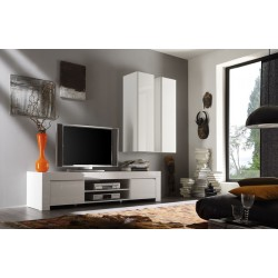 Amalia 190cm - High Gloss TV Unit