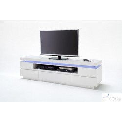 Otis III - gloss tv unit with LED lights