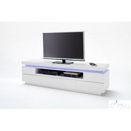 Otis III  - gloss tv unit with LED lights