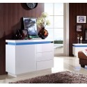 Avanti IV - gloss sideboard with LED lights