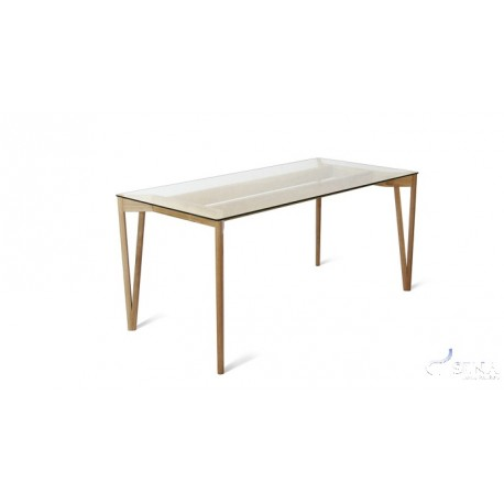 Bistro-  glass dinning table