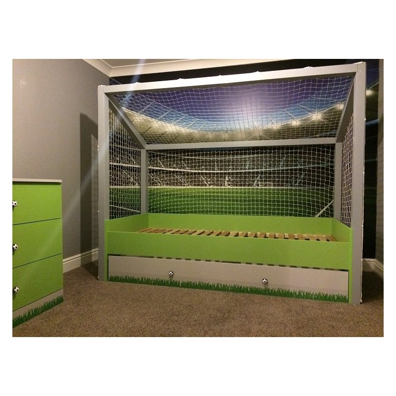 Modern steel bed frame - Football Goal Bed Furniture By Room Sena Home Furniture