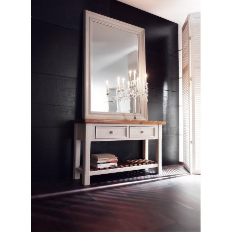 Madie console table with mirror