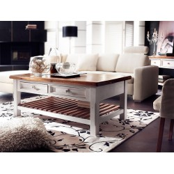 Madie solid wood coffee table