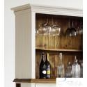 Madie solid wood large wine cabinet