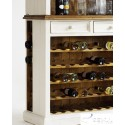 Madie solid wood large wine cabinet