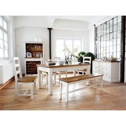 Madie solid wood dinning table