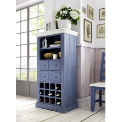 Marin solid wood wine cabinet