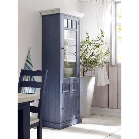 Marin II solid wood display cabinet