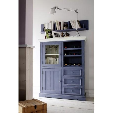 Marin solid wood display cabinet