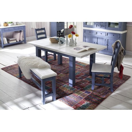 Marin solid wood extendable dinning table