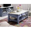 Marin solid wood coffee table