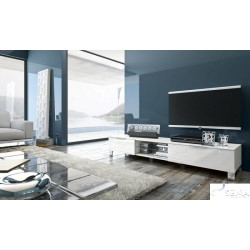 Solo V lacquered TV unit
