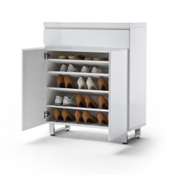 Sydney high gloss shoe cabinet I