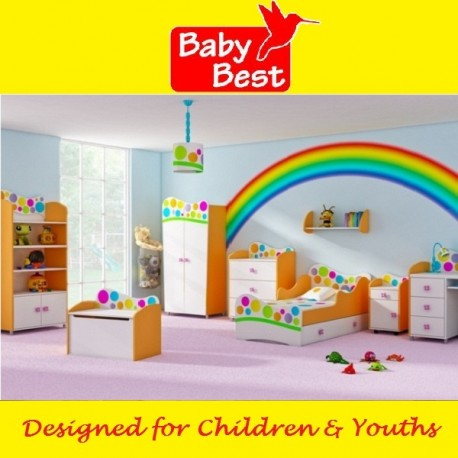 Rainbow - bedroom starter set