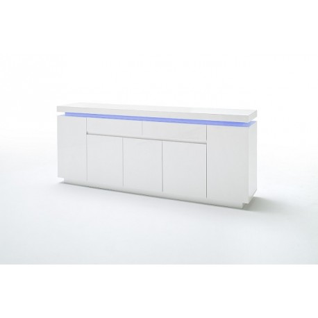 OtisV - gloss sideboard with LED lights