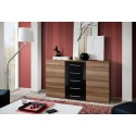 Fox I Sideboard Matt Doors and Gloss Drawers