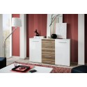 Fox II Sideboard  Gloss Doors and Matt Drawers