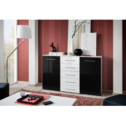 Fox IV Sideboard Gloss Doors and Drawers