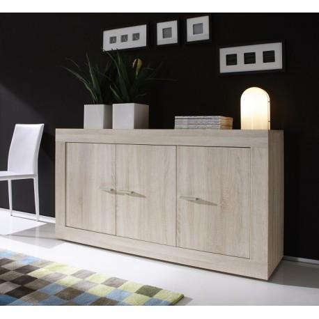 Rustica-sonoma oak 3 door sideboard