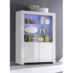 Amalia   Wide Display Cabinet
