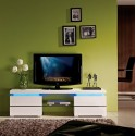 Ohio - high gloss TV unit with LED lights