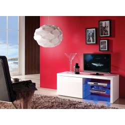 Lena III - high gloss TV unit with LED lights