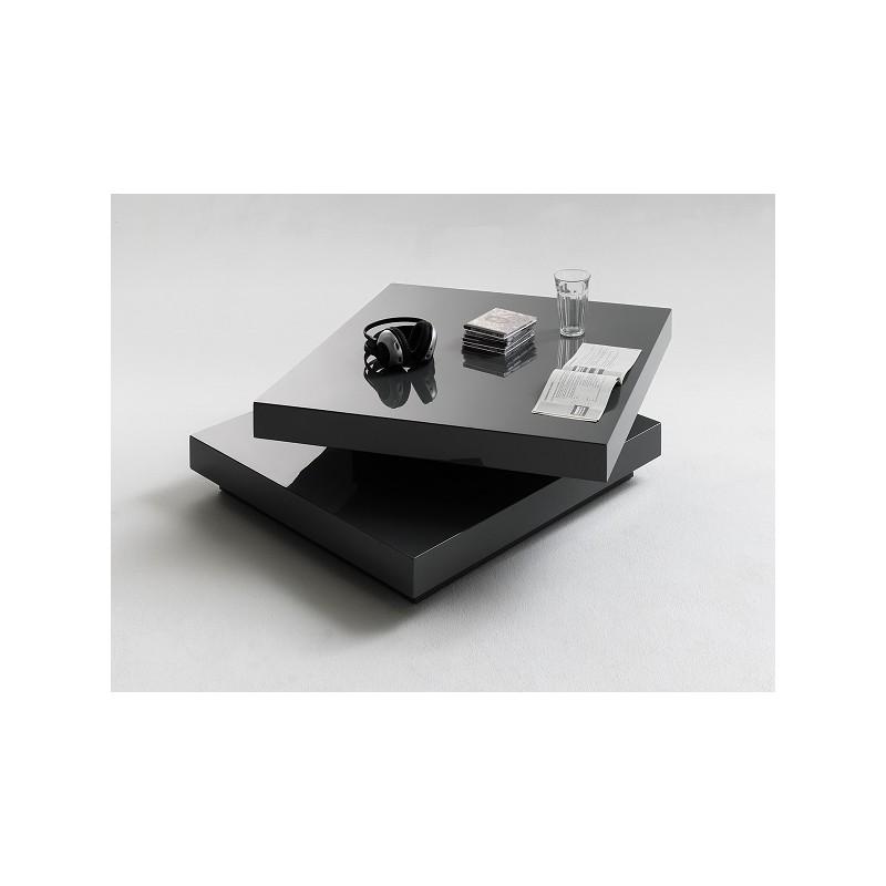 Halo White High Gloss Coffee Table: Halo Graphite High Gloss Coffee Table